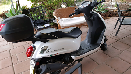 SYM Classic 125cc Scooter (LAMS / EX COND / SERV HIST)