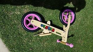 Kids Balance Bike - Wooden Frame Heathcote Sutherland Area Preview