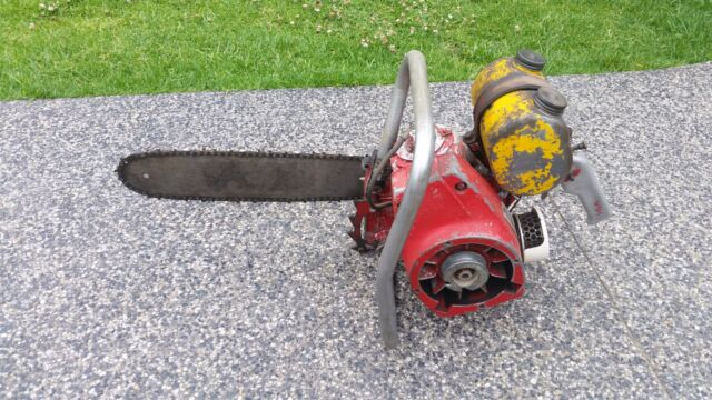 Vintage chainsaw mobilco garden tools gumtree for Gardening tools gumtree