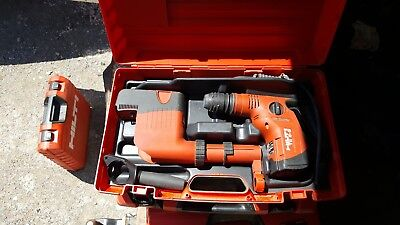Hilti Te 6-s Corded Rotary Hammer Drill W Dust Suction Unit And Case 120v 650w