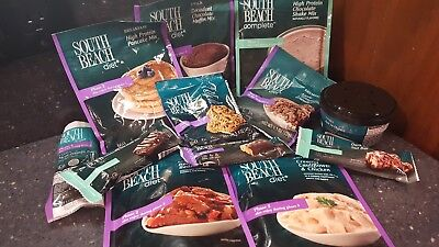 South Beach Diet Bars (South Beach diet food (3 full days with snacks) bars,shakes)