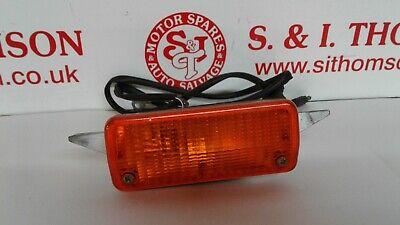 GENUINE MK2 FORD ESCORT FRONT INDICATOR LAMP 75AG13K301AA 75AG13K342AA RH LH