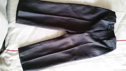 Young boys formal pants, dark grey, aged 18 months
