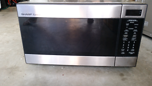 Sharp Stainless Steel Microwave Townsville Townsville City Preview