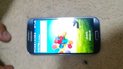 SAMSUNG GALAXY S4 16GB BLACL  Bossley Park Fairfield Area Preview