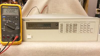 Agilent 6623a Triple Output 7v20v50v 10a2a.8a Dc Power Supply Tested