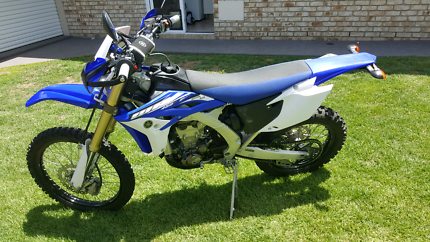 Yamaha wr450 2015 Birkdale Redland Area Preview