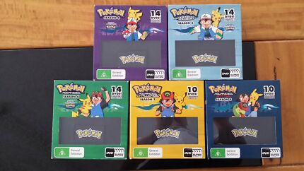 Pokémon - Season 4-8 DVD