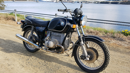 1974 BMW R75/6 classic motorcycle
