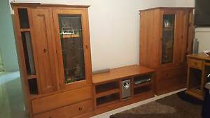 three piece wall unit Cooranbong Lake Macquarie Area Preview