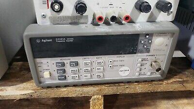 Keysight Agilent 53181a Rf Frequency Counter 225mhz Ee Lab Instrument Hp-ib