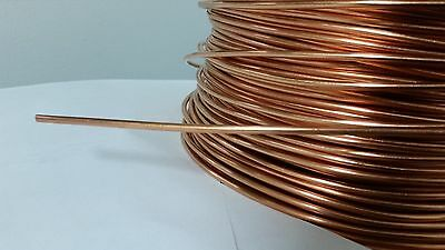 Soft Annealed Ground Wire Solid Bare Copper 8 Awg 25 Feet