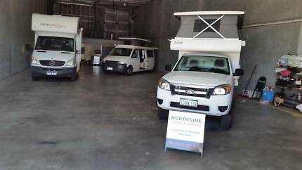 STORE YOUR CAMPER /CARAVAN. PARK AND SELL IT FROM WAREHOUSE Wangara Wanneroo Area Preview