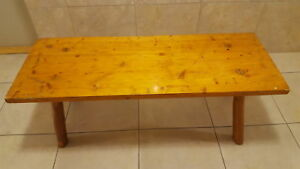 Rustic cedar bench or coffee table 48x18x18