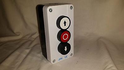 push Button Station up/down arrows + stop button, hoist, roller shutter door NEW