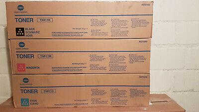 3 Konica Minolta TN 611 - B/M//C:A04P 150/ /350/450 - B Ware