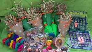 ***RABBIT GUINEA PIG ,TREATS HOME MADE NATURAL PLAY MATS TUNNELS Londonderry Penrith Area Preview