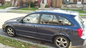 For Sale Daily Driver 2002 Mazda Protege Hatchback $1400.00 OBO