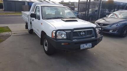 2009 Nissan Navara D22 Tray Ute TURBO DIESEL Williamstown North Hobsons Bay Area Preview