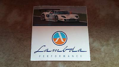 Lambda Performance Ford GT  Aufkleber