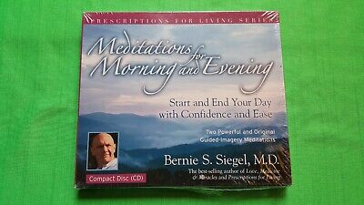MEDITATIONS FOR MORNING AND EVENING (PRESCRIPTIONS FOR LIVING) By Bernie