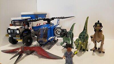 LEGO Jurassic World Raptor Rampage (75917) & Pteronodon Capture (75915)
