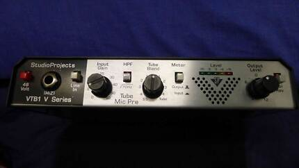 Studio Projects VTB-1 Tube Preamp Analog Guitar Bass Vocal Modded