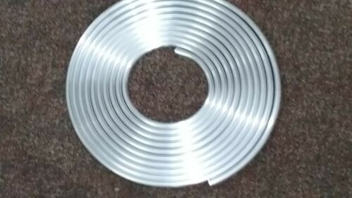 "3/8"" coiled aluminum tubing soft bendable - by the foot"