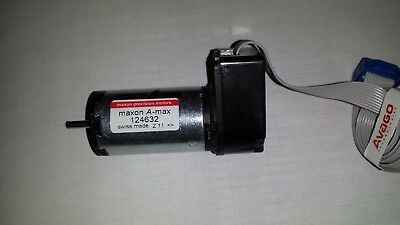 New Maxon Motor 124632 And Encoder Hedl-5540 A02