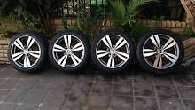 HOLDEN VF/VE SS/SV6 WHEELS 18INCH GOOD TYERS 70% TREED GOOD RIMS Greenacre Bankstown Area Preview