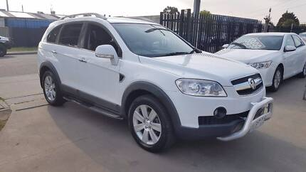 2010 Holden Captiva LX Wagon 7 Seater TURBO DIESEL Williamstown North Hobsons Bay Area Preview