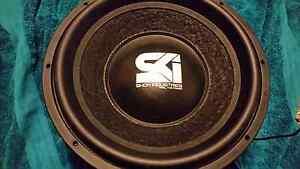 "Shok Industries Elite X 15"" 1500W RMS Subwoofer Dual 2 Ohm Hallam Casey Area Preview"