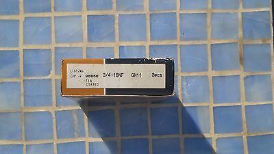 OSG HSS Ground Thread Taps 3/4-16NF GH11 Tin Coated 3 Ground Thread Taps