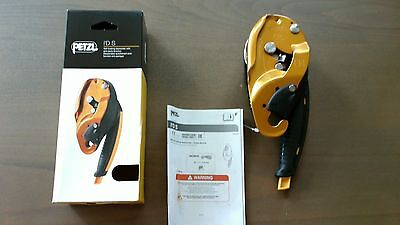 PETZL, I'D S, Self-Braking Descender, Climbing, Caving Hardware