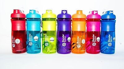 BlenderBottle SportMixer Protein Shaker Cup 28 oz Blender Bottle Sport Mixer
