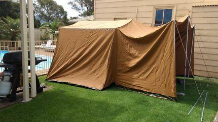 Canvas tent & Diamantina Canvas 12 person tent | Miscellaneous Goods | Gumtree ...