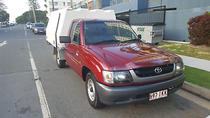 Perfect Condition 2004 Toyota Hilux Workmate Ute + 3XM Canopy & Australia | Cars Vans u0026 Utes | Toyota | Hilux | Burgundy | Petrol ...