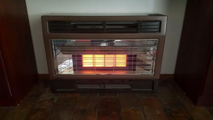 rinnai gas wall heater