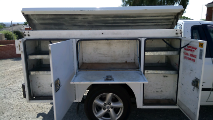 Canopy toolboxes and rack & Toolbox Canopy Trademate | Auto Body parts | Gumtree Australia ...
