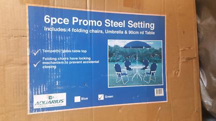 6 Piece Outdoor Setting. $150.00. Seven Hills Part 75