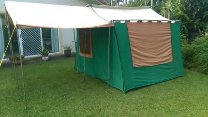 Fraser Cabin Tent 15 X 12 Canvas C&ing Hiking Gumtree & Fraser Cabin Tent Instructions   Dago Update