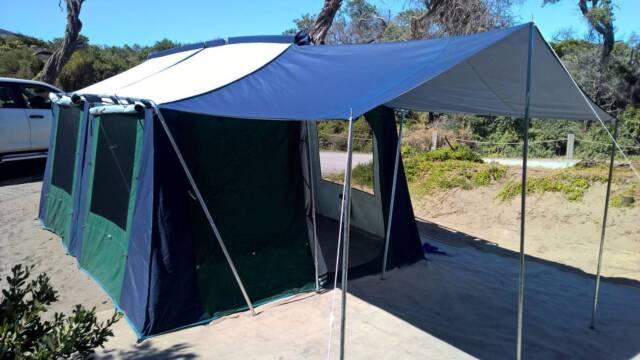 Tent - Stockman Weekender | C&ing u0026 Hiking | Gumtree Australia Sutherland Area - Woolooware | 1164654883 & Tent - Stockman Weekender | Camping u0026 Hiking | Gumtree Australia ...