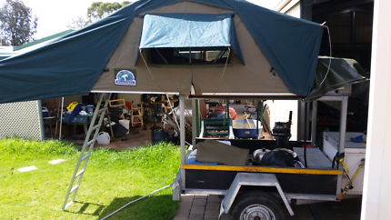 Hannibal Classic rooftop tent with jumbo fly & rooftop tent in Adelaide City SA | Camping u0026 Hiking | Gumtree ...