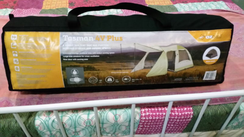 OZTRAIL TASMAN 4V PLUS Dome 4 Man Person Family Tent - USED ONCE Kedron Brisbane North. 1 of 4 & OZTRAIL TASMAN 4V PLUS Dome 4 Man Person Family Tent - USED ONCE ...