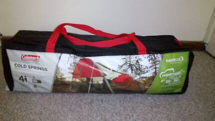 Coleman water-resistant tent for 4people & Tent coleman overlander 4 cv | Camping u0026 Hiking | Gumtree ...