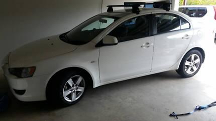 Mitsubishi Lancer Sedan MY14 White Manual