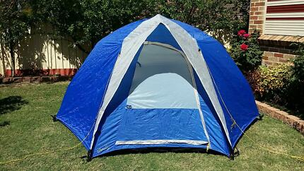 3 PERSON GETAWAY TENT FLOCKED QUEEN AIR MATTRESS ADVENTURIDGE S & tents in Liverpool Area NSW | Camping u0026 Hiking | Gumtree ...