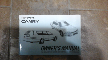 Toyota Camry Owners Manual Can Post