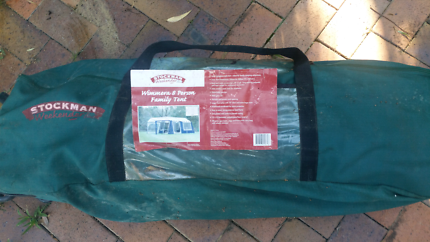 Stockman weekender 8 man Tent Never used it & Tents never used | Camping u0026 Hiking | Gumtree Australia Dalby Area ...