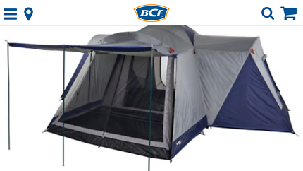 Used once - Oztrail Vantage 12 dome tent  sc 1 st  Gumtree & tent bcf in Queensland | Gumtree Australia Free Local Classifieds